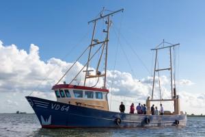 Vissersboot van palingvissers uit Volendam