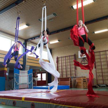 Gymnastiek vereniging Victor demonstratie Obdam