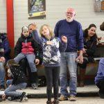 Opa, Oma en kleinkinderen toernooi Jeux des Boules Alkmaar