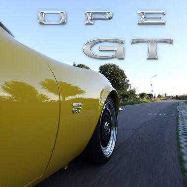 Rit met de Opel GT 1970